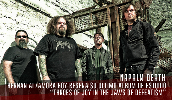 """Napalm Death – """"Throes of Joy in the Jaws of Defeatism"""" (Century Media Records. 2020)"""