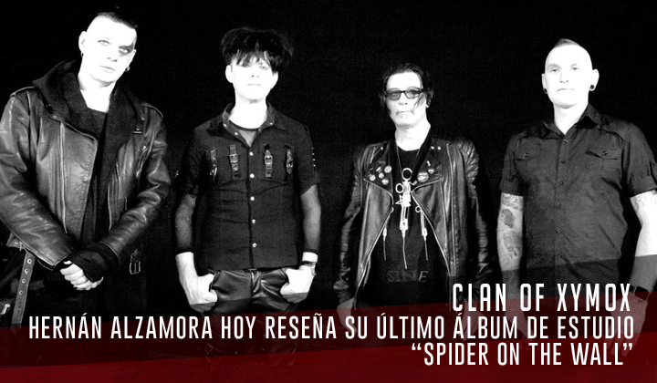"""Clan of Xymox – """"Spider on the Wall"""" (Metropolis Records, 2020)"""