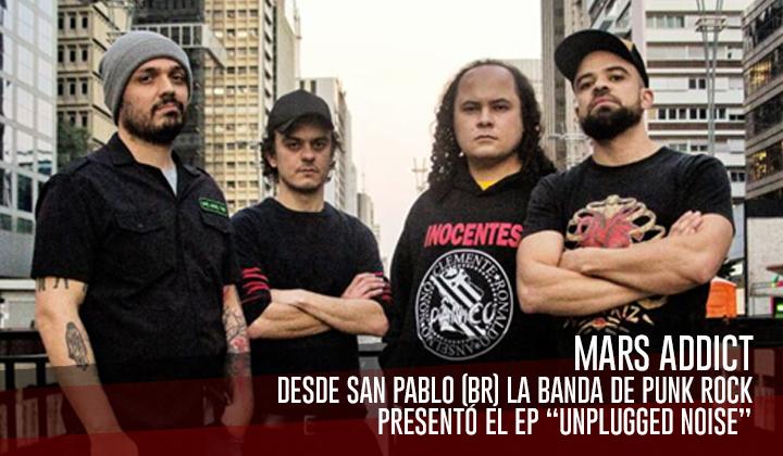 """Mars Addict – Presenta el EP """"Unplugged Noise"""""""