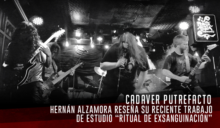 """Cadaver Putrefacto – """"Ritual de exsanguinación"""" (Herrecords, 2020)"""