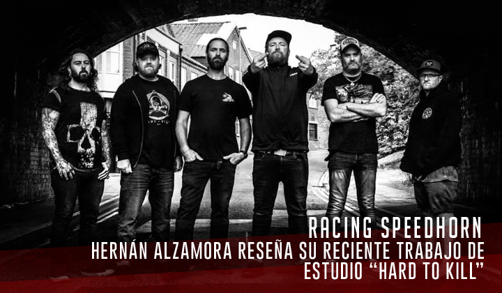 """Raging Speedhorn – """"Hard to Kill"""" (Red Weed Records, 2020)"""
