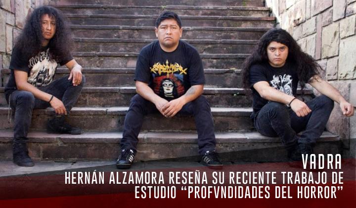 """Vadra – """"En las Profvndidades del Horror"""" (Independiente, 2020)"""