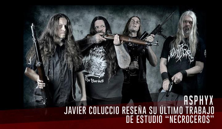 """ASPHYX – """"Necroceros"""" (Century Media Records 2021)"""