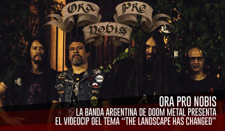 """Ora Pro Nobis – Estrena el video de """"The Landscape Has Changed"""""""