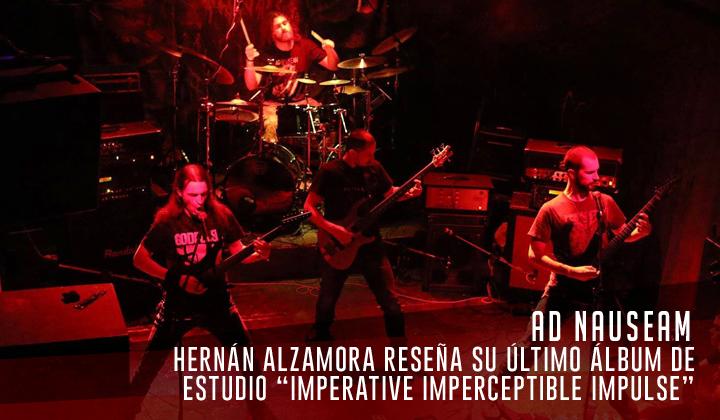 """Ad Nauseam – """"Imperative Imperceptible Impulse"""" (Avantgarde Music, 2021)"""