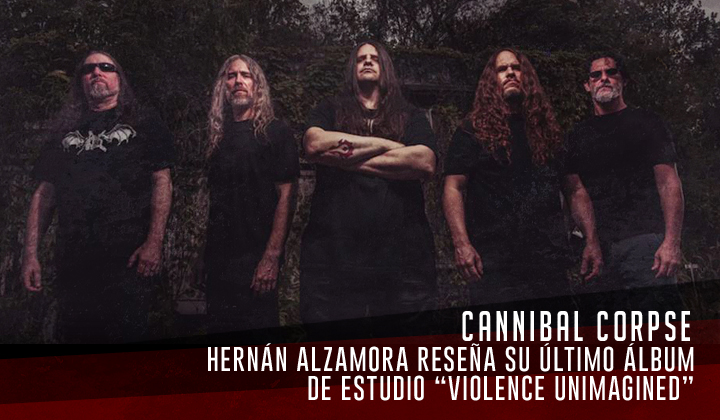 """Cannibal Corpse – """"Violence Unimagined"""" (Metal Blade, 2021)"""