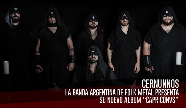"""Cernunnos – Presenta su nuevo álbum de estudio """"Capriconvs"""""""