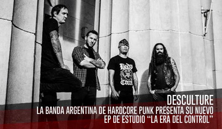 """Desculture – Presenta su nuevo EP de estudio """"La Era del Control"""""""