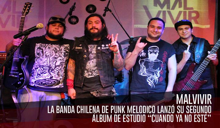 """Malvivir – Lanzó su segundo álbum de estudio """"Cuando ya no esté"""""""