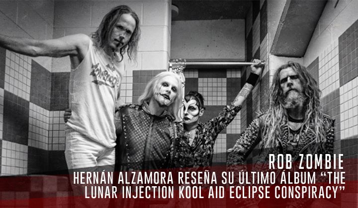 """Rob Zombie – """"The Lunar Injection Kool Aid Eclipse Conspiracy"""" (Nuclear Blast, 2021)"""