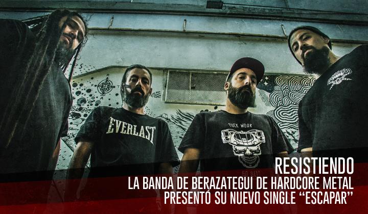 """Resistiendo – Presentó su nuevo single """"Escapar"""""""